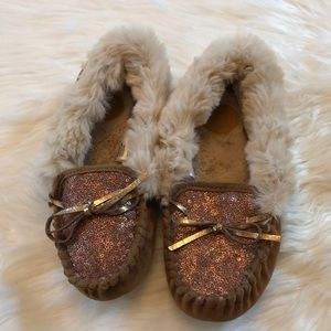 ef7c1e5affe9 Anthropologie Far Away From Close Slippers